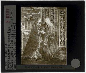 Pinturicchio. Visitatie van Maria