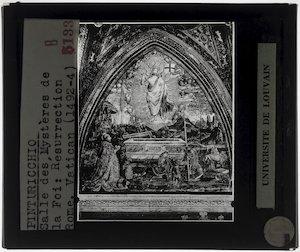 Pinturicchio. De verrijzenis van Christus