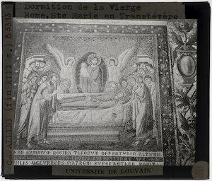 Image from object titled Pietro Cavallini. Scènes uit het leven van Maria; Dood van Maria