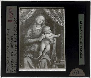 Gaudenzio Ferrari. Madonna met kind