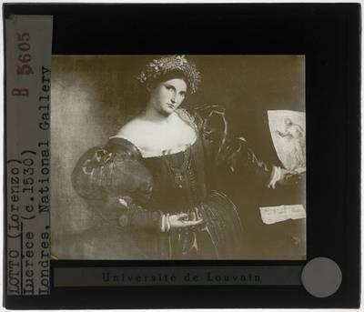 Lorenzo Lotto. Portret van een vrouw, geïnspireerd door Lucretia
