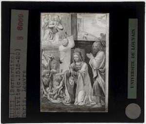 Bernardino Luini. Geboorte van Christus