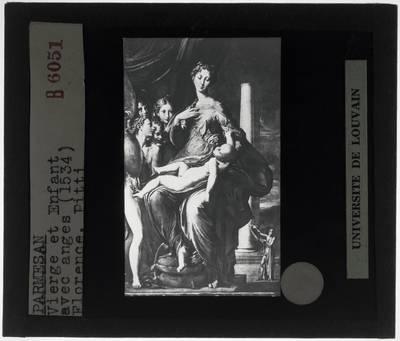 Parmigianino. Madonna met de lange hals