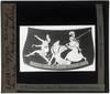 Oud-Grieks aardewerk. Pan painter. Hydria; Ontwerp: Perseus vlucht na onthoofding van Medusa