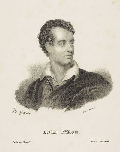 Image from object titled Lord Byron