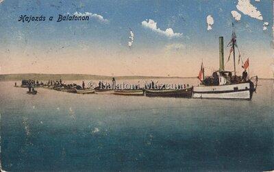 Hajózás a Balatonon
