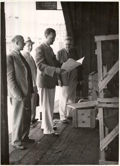 Roszner István szállítmányozó Budapest 1940 körül