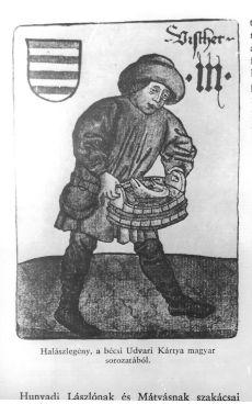 Image from object titled Halászlegény középkori ábrázolása