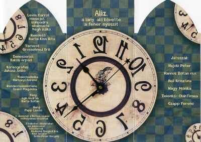 Aliz, a lány, aki követte a fehér nyuszit