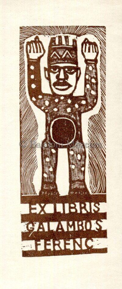 Ex libris Galambos Ferenc