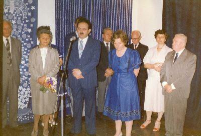 Bódy Irén kiállítás, Kékfestő Múzeum, Pápa