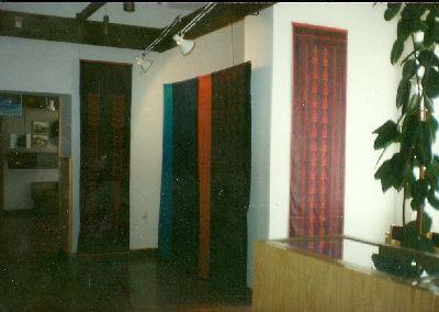 Bódy Irén textilművész kiállítása, Kékfestő Múzeum, Pápa