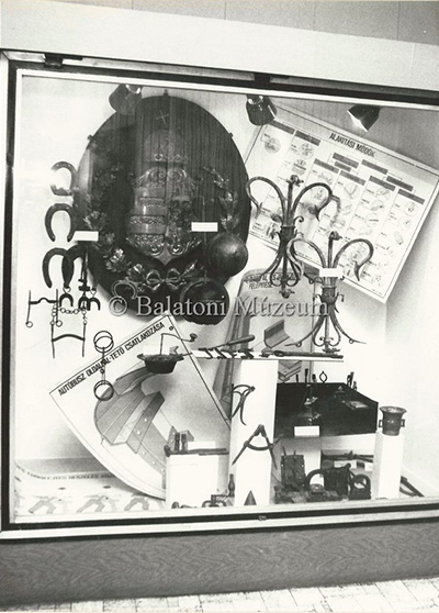 A 308. számú Ipari Szakmunkásképző Intézet kiállítása