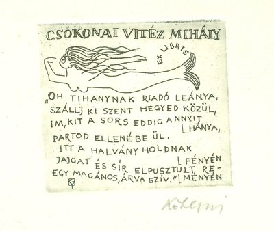 Image from object titled Ex libris