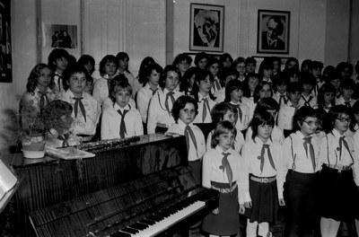 Szendrey iskola Kodály emlékműsora