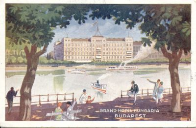 Image from object titled Grand Hotel Hungaria