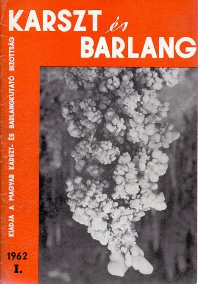 Image from object titled Karszt és barlang 1962. I.