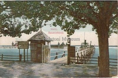 Kikötő. Balatonfüred.