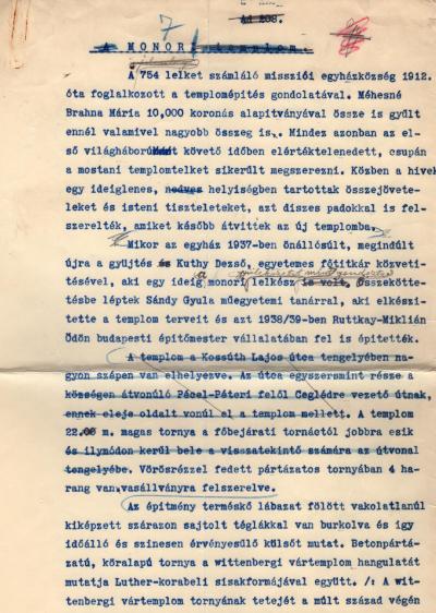 Image from object titled Bányai Egyházkerület. Pestmegyei Közép Egyházmegye