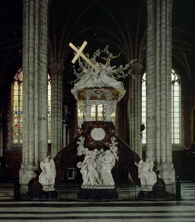 ref: PMa_B_STB_122_15_B_Gent; Preekstoel, 1741-1745