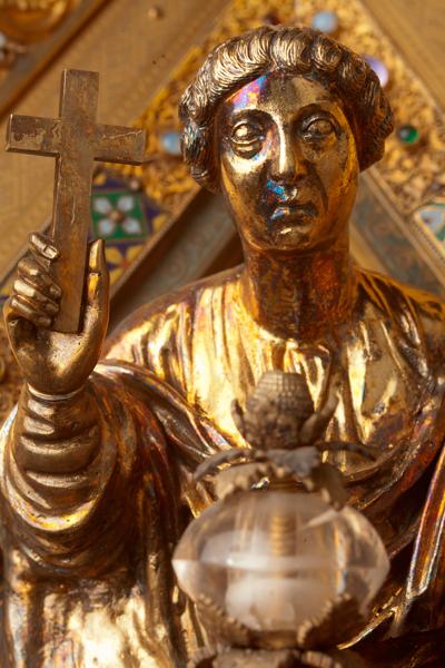 Châsse (de l'église) Notre-Dame de Tournai; ref: PM_087140_B_Tournai; Trésor de la Cathédrale, Châsse (de l'église) Notre-Dame de Tournai