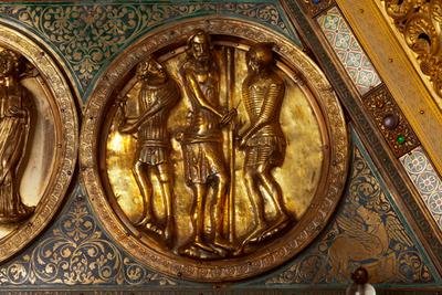 Châsse (de l'église) Notre-Dame de Tournai; ref: PM_087105_B_Tournai; Trésor de la Cathédrale, Châsse (de l'église) Notre-Dame de Tournai