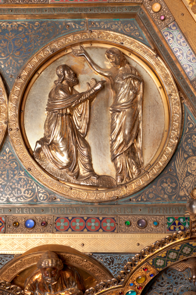 Châsse (de l'église) Notre-Dame de Tournai; ref: PM_087171_B_Tournai; Trésor de la Cathédrale, Châsse (de l'église) Notre-Dame de Tournai