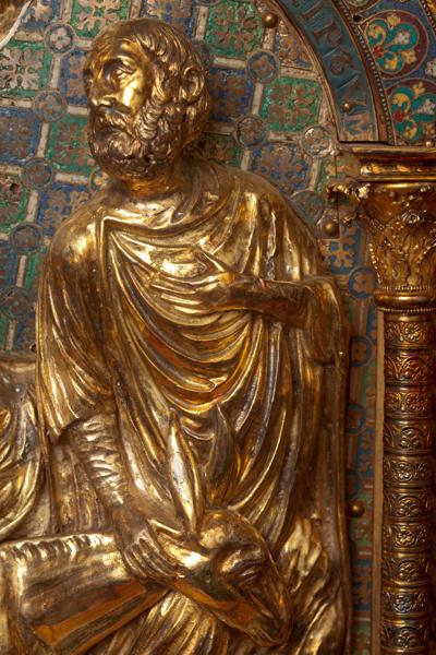 Châsse (de l'église) Notre-Dame de Tournai; ref: PM_087165_B_Tournai; Trésor de la Cathédrale, Châsse (de l'église) Notre-Dame de Tournai