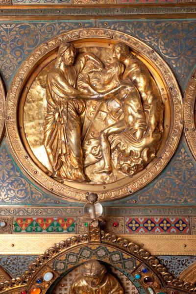Châsse (de l'église) Notre-Dame de Tournai; ref: PM_087170_B_Tournai; Trésor de la Cathédrale, Châsse (de l'église) Notre-Dame de Tournai