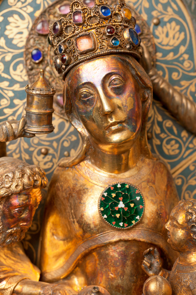Châsse (de l'église) Notre-Dame de Tournai; ref: PM_087152_B_Tournai; Trésor de la Cathédrale, Châsse (de l'église) Notre-Dame de Tournai
