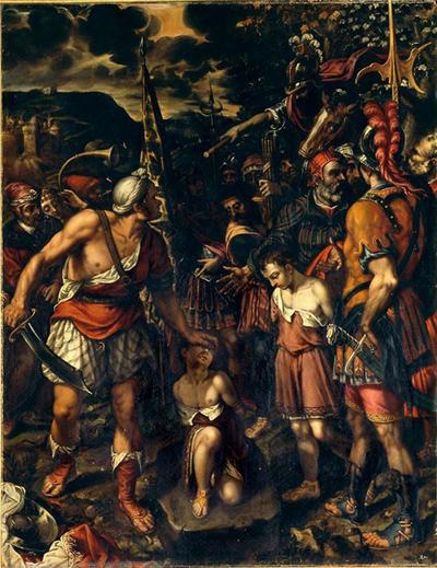 ref: PMa_E_0060_El_Escorial; Pintura; Santos Justo y Pastor