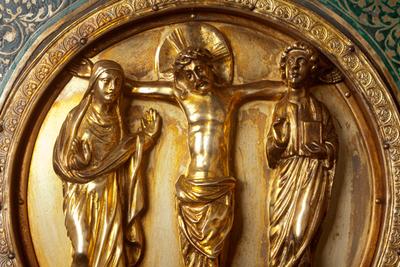 Châsse (de l'église) Notre-Dame de Tournai; ref: PM_087110_B_Tournai; Trésor de la Cathédrale, Châsse (de l'église) Notre-Dame de Tournai