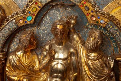 Châsse (de l'église) Notre-Dame de Tournai; ref: PM_087160_B_Tournai; Trésor de la Cathédrale, Châsse (de l'église) Notre-Dame de Tournai