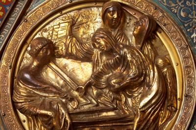 Châsse (de l'église) Notre-Dame de Tournai; ref: PM_087113_B_Tournai; Trésor de la Cathédrale, Châsse (de l'église) Notre-Dame de Tournai