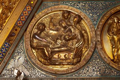 Châsse (de l'église) Notre-Dame de Tournai; ref: PM_087106_B_Tournai; Trésor de la Cathédrale, Châsse (de l'église) Notre-Dame de Tournai