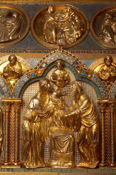Châsse (de l'église) Notre-Dame de Tournai; ref: PM_087157_B_Tournai; Trésor de la Cathédrale, Châsse (de l'église) Notre-Dame de Tournai