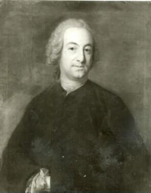 Målning av Johan Henik Scheffel
