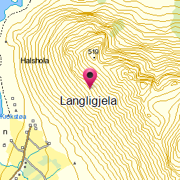 Image from object titled Langligjela