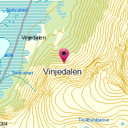 Image from object titled Vinjedalen
