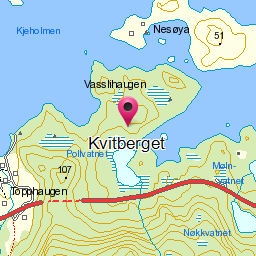 Image from object titled Kvitberget