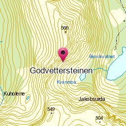 Image from object titled Godvettersteinen