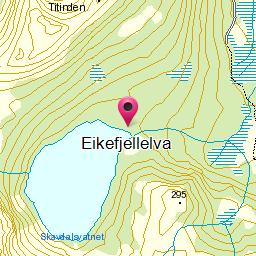 Image from object titled Eikefjellelva