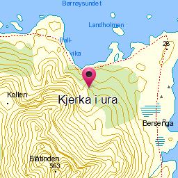 Image from object titled Kjerka i ura