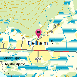 Image from object titled Fjellheim