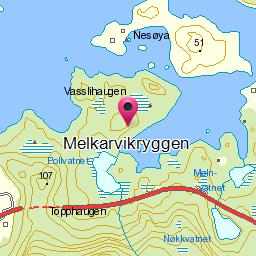 Image from object titled Melkarvikryggen