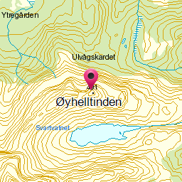 Image from object titled Øyhelltinden