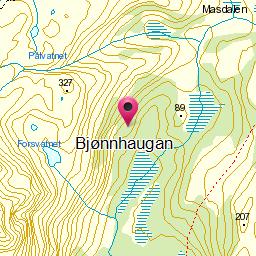 Image from object titled Bjønnhaugan