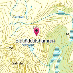 Image from object titled Blåtinddalshamran