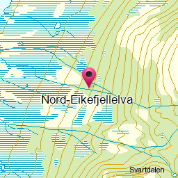 Image from object titled Nord-Eikefjellelva