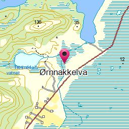 Image from object titled Ørnnakkelva